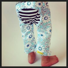 12/18  Months Baby Monkey Pants by RebelsandPebbles on Etsy, $28.00 #Upcycled, #Monkey Pants,