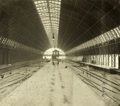 P.J.H. Cuypers. Roof of Amsterdam Central Station. Photographer unknown. NAI Collection, CENT ph4