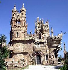 Castle Colomares in Benalmadena Pueblo, Spain by rosalind