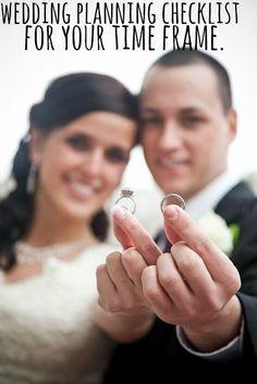 A 4 Month Engagement – Wedding Planning Checklist