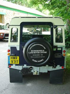 Winston is an ex-MOD Rover which was completely restored to civilian kit by Land Rover Center in Huddersfield, UK