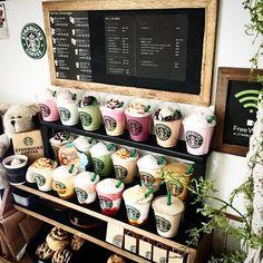 Miniature Starbucks #miniaturefood #miniaturedrink #minidrink