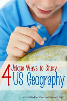 Four Unique Ways to Study U.S. Geography by Pam at Enchanted Homeschooling Mom