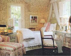 Dan Carithers guest room, found on Cote de Texas