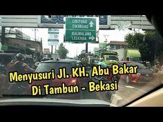 Menyusuri Jalan Pintas Via Jalan KH. Abu Bakar Di Tambun Bekasi - YouTube Broadway Shows, Explore, Youtube, Exploring, Youtubers