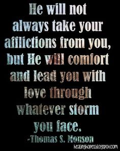 Healing Hope: whatever storm you face Lds Faith Quotes, Hope Quotes, Great Quotes, Quotes To Live By, Inspirational Quotes, Quotes Quotes, Christian Posters, Important Quotes, Gods Timing