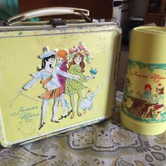 Lunch box junnior miss tm Aladdin industries include the therm vin...