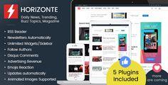 Horizonte v1.0.1 - Daily News, Trending, Buzz Topics, Magazine - https://codeholder.net/item/php-scripts/horizonte-daily-news-trending