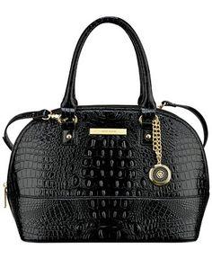 61b358e6ba27 Anne Klein Pretty in Pink Large Satchel Handbags   Accessories - All  Handbags - Macy s