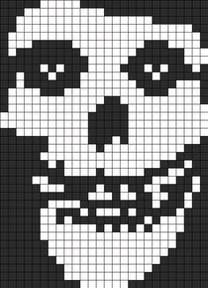 Misfits Perler Perler Bead Pattern / Bead Sprite