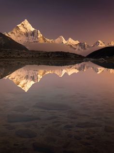 Reconnect with nature.  Photo of #Everest region - Nepal