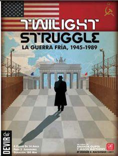 Twilight Struggle. Categorías.:Juegos de tablero, estrategia Para 2, Edad: 14 o más años Tiempo de juego: 3h Idioma: Español Fab./Editorial: Devir