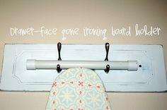 ironing board holder leanneeveryday