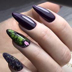 Нет описания фото. Gemstone Rings, Nail Art, Gemstones, Nails, Hair Styles, Jewelry, Manicure, Ongles, Finger Nails