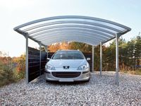 Cheap and high quality carports garages with polycarbonate roofs