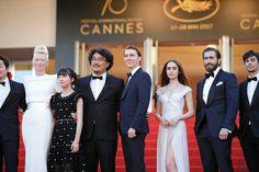 Tilda Swinton & Okja Team in Cannes 2017