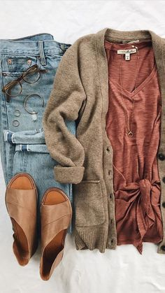 a0f47912aec8b4 Love this minus the brown - would be awesome in gray! ❤ Fall Winter
