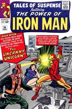 Tales of Suspense #56. Iron Man vs the Unicorn.