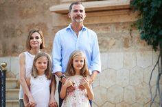 Spanish Royal Family's Summer Photocall 2015