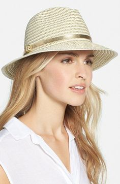 August Hat Metallic Trim Hat available at #Nordstrom