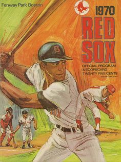 Boston Red Sox Program (1970) -