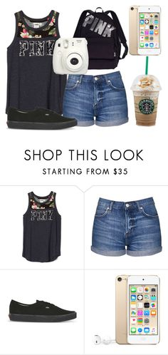 """Great America "" by kari-luvs-u-2 ❤ liked on Polyvore featuring Topshop, Vans and Victoria's Secret"