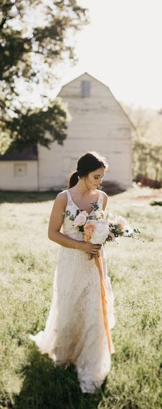 Styled Shoot With Breathtaking Fls In Outdoor Wedding