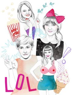 Illustration on Dripbook : : @Nicole Jarecz  | Editorial | Issy-les-moulineaux, France