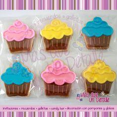 Galletas de muffins. Deliciosas!!  en Mas Que Un Detalle =)