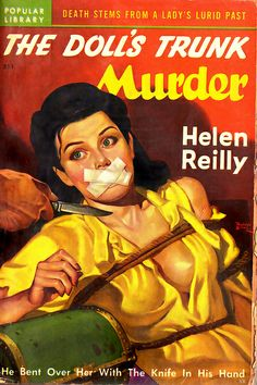 """""""He bent her over with the knife in his hand."""" 1949"""