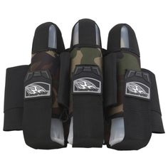 Empire 2012 TW 3+6 React Paintball Harness - Breed Woodland Camo. Available at UltimatePaintball.com