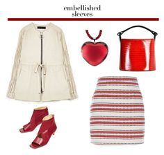 """""""Make a Statement: Embellished Sleeves"""" by french-fashion-addict ❤ liked on Polyvore featuring Kenzo"""