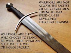 True warriors.