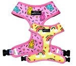 Reversible Harness – Gummy Bear - FCL Dog Grooming Salon and Luxury Lifestyle Shopping - Desserts Lifestyle Shop, Luxury Lifestyle, Dog Grooming Salons, Weekly Workout Plans, Bear Design, Rainbow Print, Gummy Bears, Dog Accessories, At Home Workouts