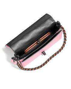 Dinky Tea Rose Crossbody Bag
