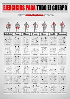 Ejercicios para todo el cuerpo