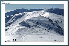 Trekking the Carneddau mountains in winter