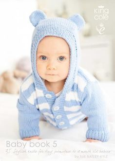 for babies around 18 months old, this book of baby knitting patterns