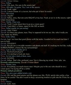 Whoa! Balder's Gate Siege of Dragonspear quality writing. Later man. http://ift.tt/2gyw0t1