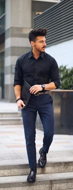 30 Styling Tips For Men To Master Business Casual Look business casual outfits men - Casual Outfit Oufits Casual, Style Casual, Casual Look, Men Casual, Casual Wear, Smart Casual, Men's Style, Casual Styles, Casual Winter