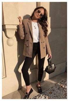 Business Casual Outfits For Work, Casual Office Wear, Office Outfits Women, Work Casual, Chic Business Casual, Casual Fall, Casual Work Clothes, Winter Office Wear, Office Attire