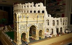Thursday, March 26, 2015. The kids used photos of famous buildings to make Lego recreations - not quite as good as this one, but close... :)