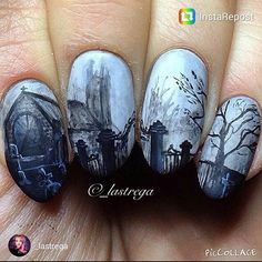 Hunt for the HALLOQUEENS 2015 is on!! Check out the halloween nails by Maja @_lastrega. If you think its horribly spooky leave a thumbs up to vote for Maja. To participate mention Scra2ch. #halloweennails #halloweenparty #halloween #scra2chbuzz #scarynails #nailartcentral