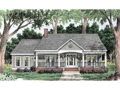 Country Style 1 story 3 bedrooms(s) House Plan with 1680 total square feet and 2 Full Bathroom(s) from Dream Home Source House Plans