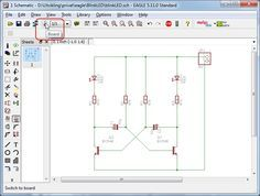 8051 Line Follower Robot PCB Layout | Microcontroller Projects ...