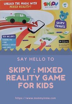 The world is progressing towards Mixed Reality and SKIPY Interactive Kit is one such Interactive Education toy and game for toddlers and kids. Games For Toddlers, Video Games For Kids, Educational Games For Kids, Educational Toys, Board For Kids, Travel Box, Kids Zone, Learning Toys, Card Games