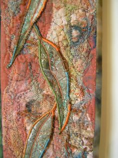 art quilts | Sesenarts: Textile Art Wall Hanging