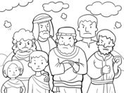 bible coloring pages moses manna game   49 Best Moses - Manna/Quail images in 2019   Sunday school ...