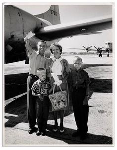 Gus Grissom family