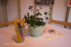 Make your own Christmas centre piece ww11 style with some fresh Holly and Ivy and an old tea pot.